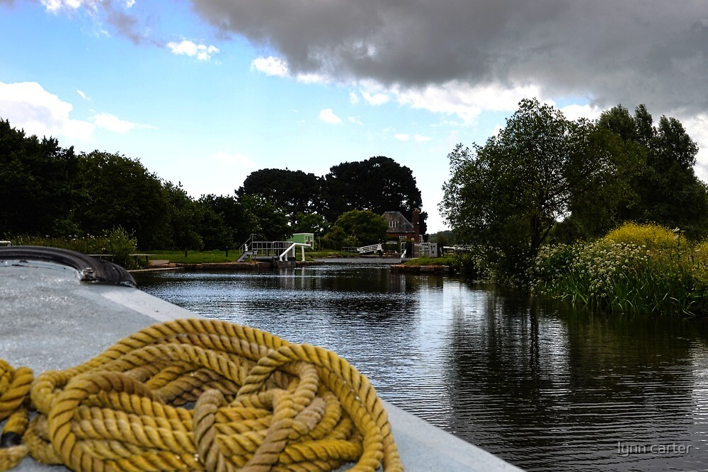 A Boat ride on the Southern Comfort at Exeter UK by lynn carter