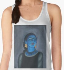 Blue Frida Women's Tank Top