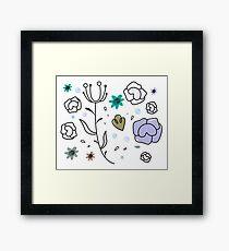 """Floral Metamorphosis"" - Just Original Artistic Piece! Framed Print"