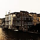 View of Grand Canal in Venice by Ms-Bexy