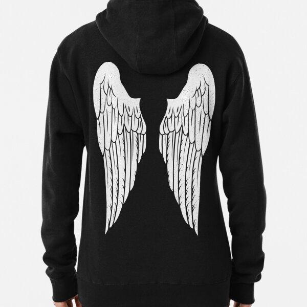 Angel Wings Pullover Hoodie
