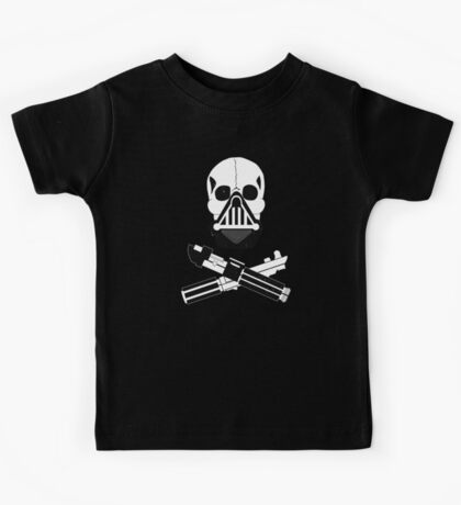 Vader and Cross Sabers_Alternate (Dirty Version) Kids Clothes
