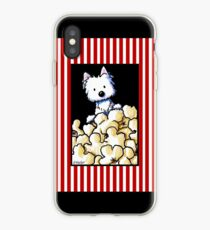 Westie Popcorn Lover iPhone-Hülle & Cover