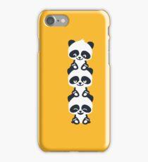 3 Pandas iPhone Case/Skin