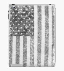 Big Black US Flag  iPad Case/Skin