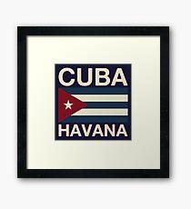 Cuba havana Framed Print