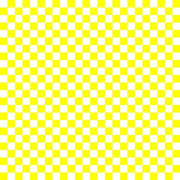 Bright Fluorescent Yellow Neon and White Checked Checkerboard by podartist