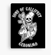 Sons of Gallifrey Canvas Print