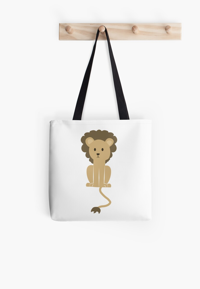 Sitting Cute Lion by PatiDesigns
