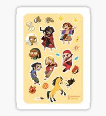 ☆CHIBI 2D-DWA ALL STARS☆ Sticker