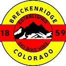 BRECKENRIDGE COLORADO SKI BIKE HIKE MOUNTAINS ESTABLISHED 1859 by MyHandmadeSigns