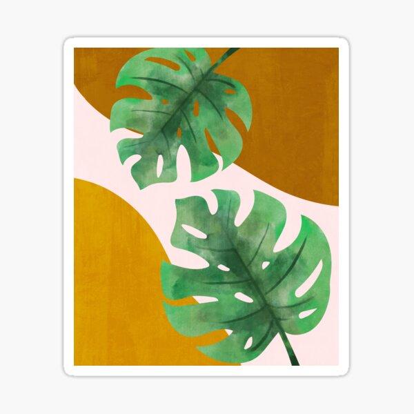 Botanical Abstract organic Sticker