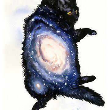 Galaxy Cat by GoldeenHerself
