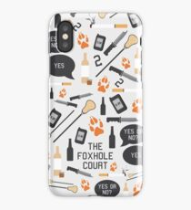 The Foxhole Court Pattern iPhone Case/Skin