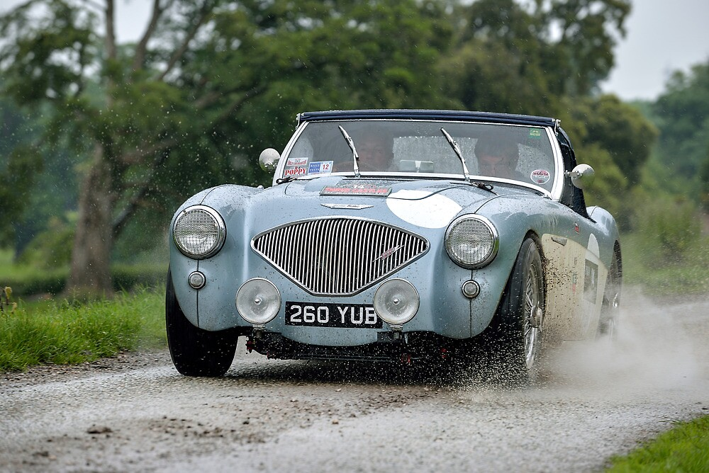 The Three Castles Welsh Trial 2014 - Healey 100/4 by Three-Castles