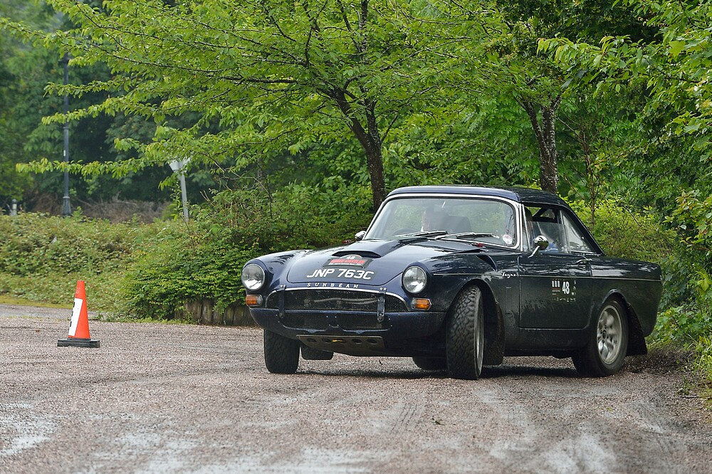 The Three Castles Welsh Trial 2014 - Sunbeam Tiger by Three-Castles