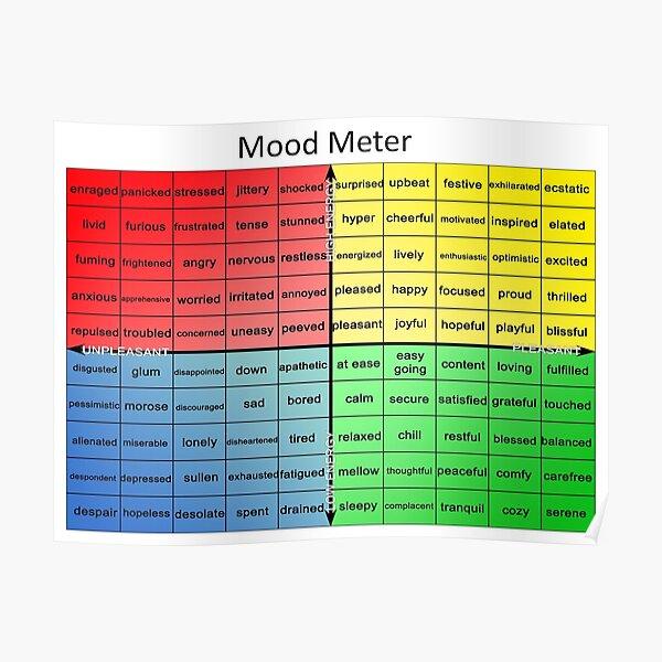 Mood Meter Poster