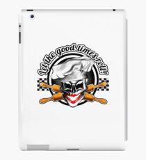 Baker Lady Skull: Let the good times roll! iPad-Hülle & Klebefolie