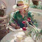 Morning Journal  by Sally  Rosenbaum