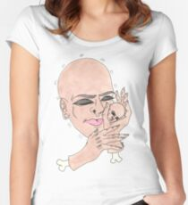 Bby Head Women's Fitted Scoop T-Shirt