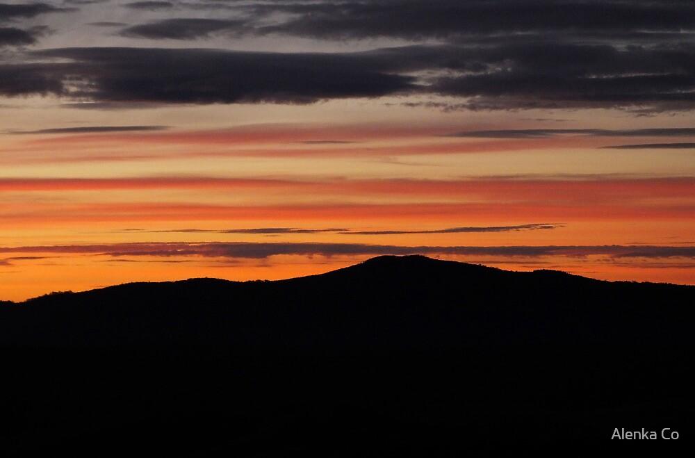 winter sunrise by Alenka Co