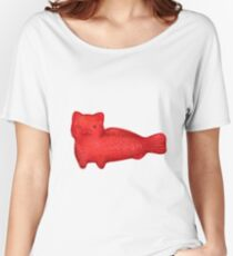 swedish fish cat Women's Relaxed Fit T-Shirt