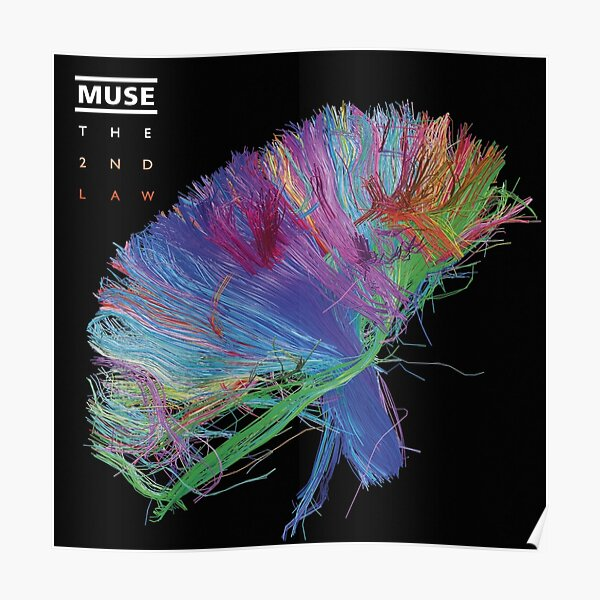 The muse 2nd law album cover Poster