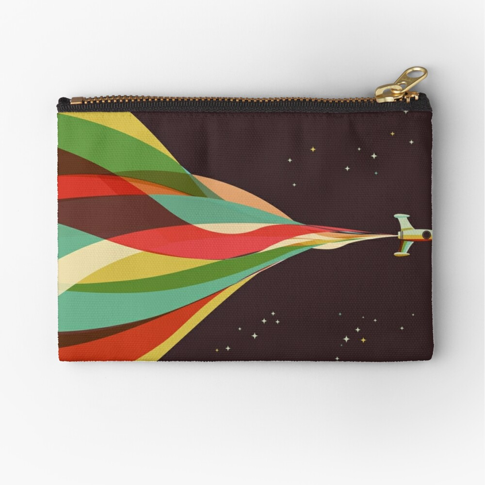 Kaleidoscope to the Stars Zipper Pouch
