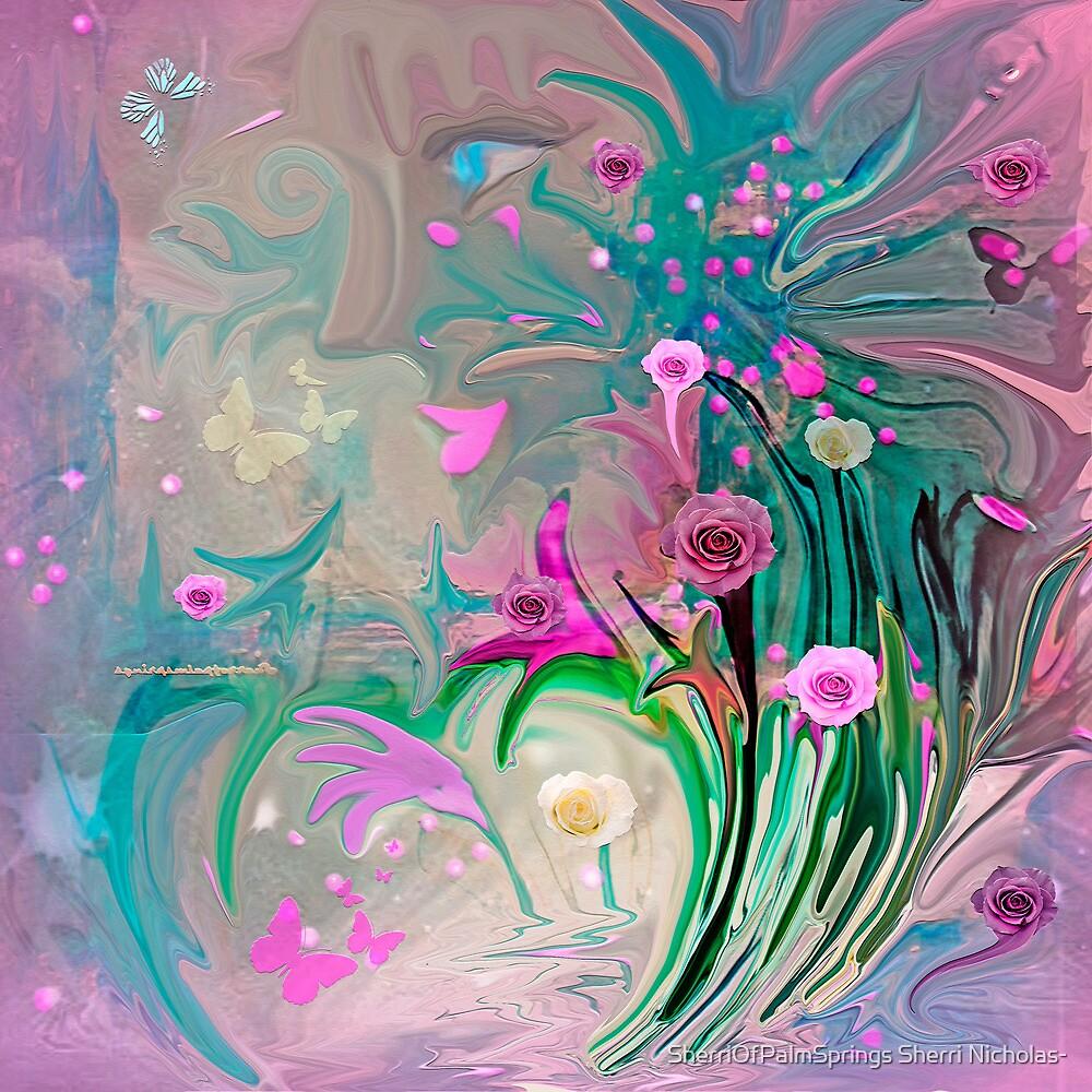 Charm In The Garden by SherriOfPalmSprings Sherri Nicholas-