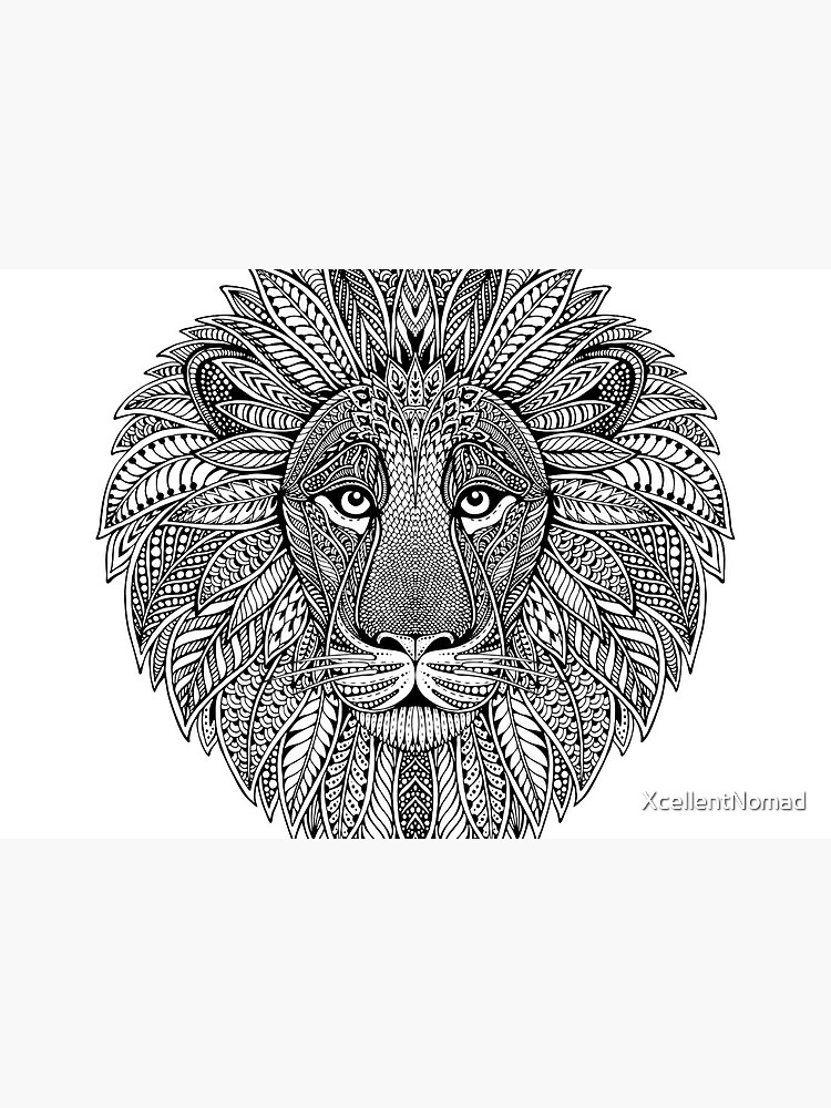 Wild Artistic Lion from Africa by XcellentNomad
