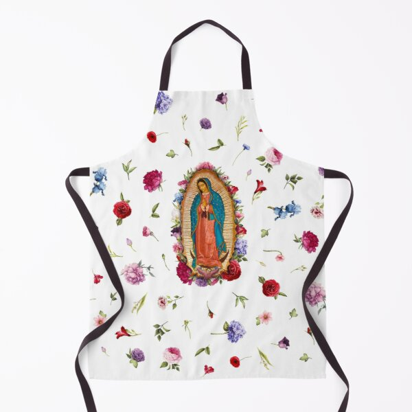 Virgen de Guadalupe - Our Lady of Guadalupe, Guadalupe, Saint Virgin Mary, Virgen de Guadalupe, Latina, Guadalupe Shirt, Religious Gift, Latina Gift Apron