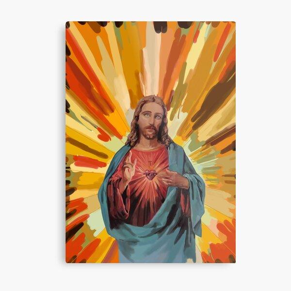 The Sacred Heart - Jesus  Metal Print