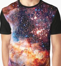 Cosmic Connection, Galaxy, Space, Nebula, Stars, Planet, Universe,  Graphic T-Shirt