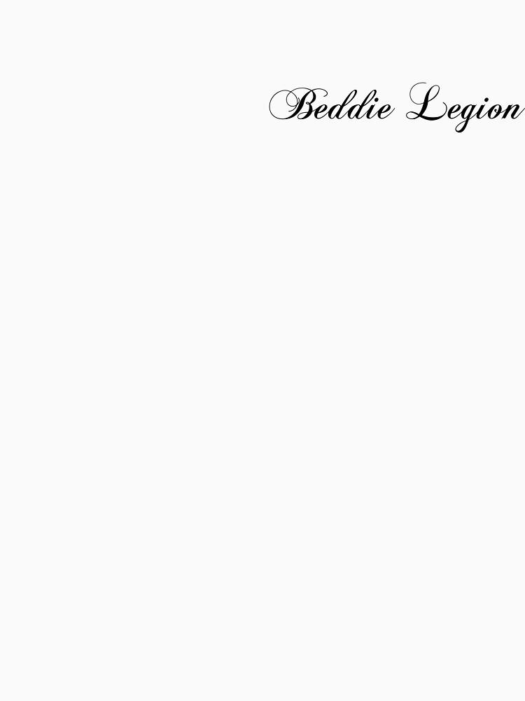 Beddie Legion Classical Tee by eddswitchengage