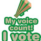My voice count! I vote by fabuliciosa
