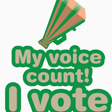 My voice count! I vote by fabuliciosa
