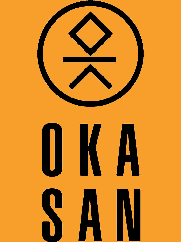 cool and fashionable Okasan T-shirt by Westlake1972