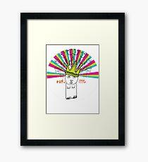 Royal Bunny Framed Print