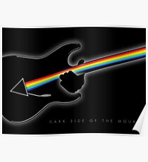 Dark Side of the Mour (Gilmour) Poster