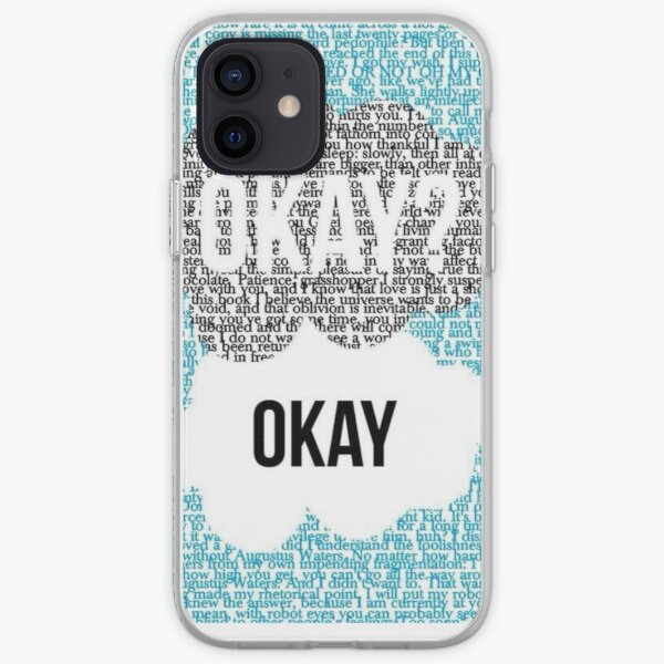 Okay, okay? The fault in our stars  iPhone Soft Case