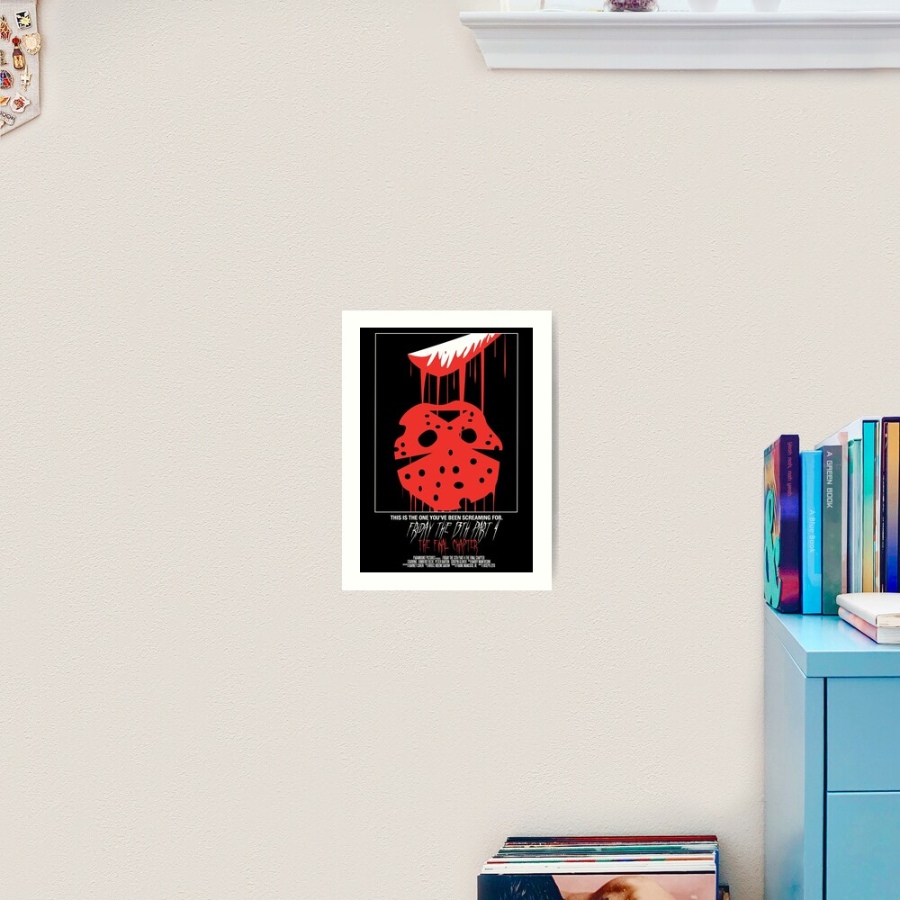 Friday The 13th Part 4: The Final Chapter Art Print