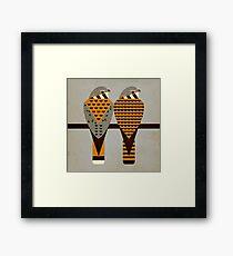 Kestrels Framed Print