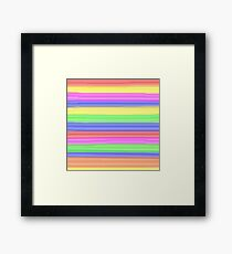Ribbon Framed Print