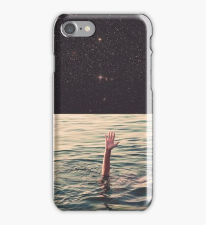 Drowned in space iPhone Case/Skin