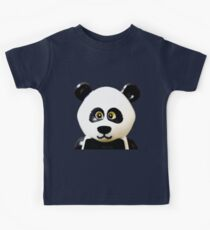 Cute Lego Panda Guy Kids Clothes