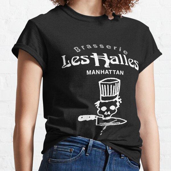 Retro Bourdain Les Halles Sticker Decal Men Women Classic T-Shirt