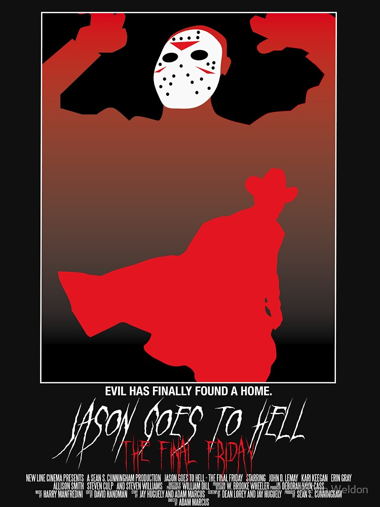 Jason Goes To Hell: The Final Friday by KevWeldon