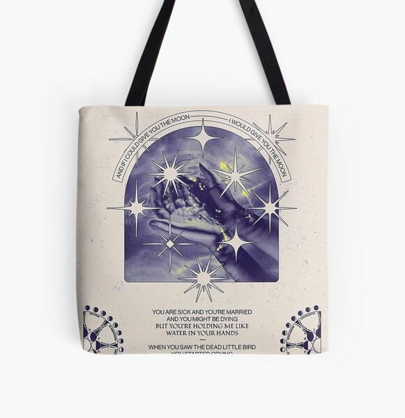 Moon and Star song - Phoebe Bridgers All Over Print Tote Bag