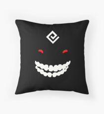 Black spirit from black desert Throw Pillow