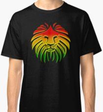 Like a Lion, Reggae, Rastafari, Africa, Jah, Jamaica,  Classic T-Shirt